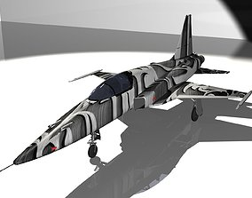 F-5E Tiger II Aircraft 3D model