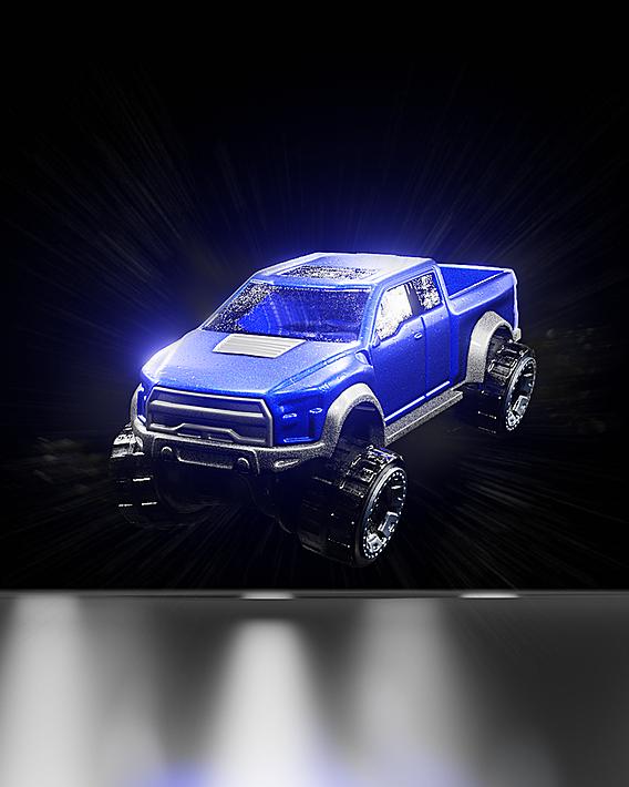 Hot Wheels - Ford Raptor - Made in Blender 3D