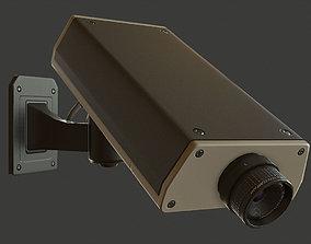 3D model VR / AR ready PBR CCTV Camera