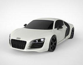 vehicle Audi R8 3D Model