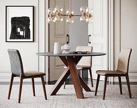 3D Dining Room Interior ID342