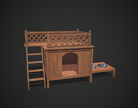 Dog Kennel 3D asset