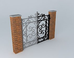 3D model grating Gates