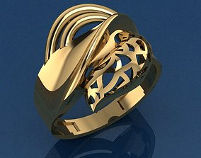 3D print model wealth Ring 14