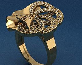 3D print model engagement Ring 50