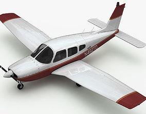 Piper PA-28 Cherokee Arrow 3D model