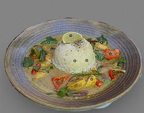 Food chicken 3D