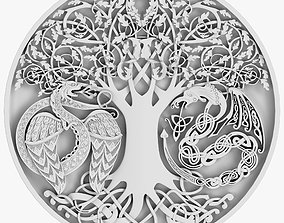 3D model viking Celtic Ornament