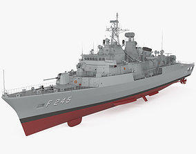3D MEKO 200TN frigate