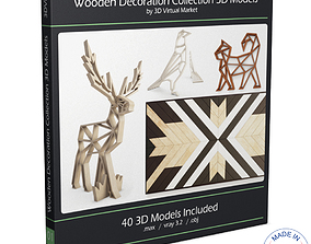 3D model Wooden Decoration