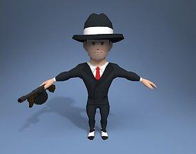 Mobster 3D model