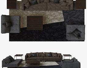 Minotti Pollock COMPOSITION 02 3D