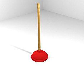 3D Household Tool - Plunger