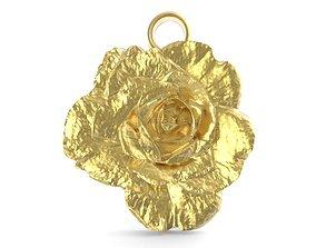 3D printable model Rose pendant 1
