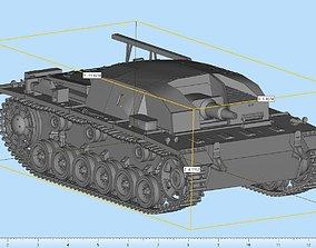 3D printable model StuG III IFV Highly Detailed