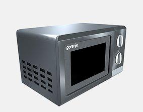 kitchen 3D Microwave