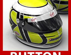 3D jenson Helmet F1 2009 Jenson Button