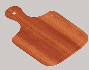 3D model Wooden chopping boards set1