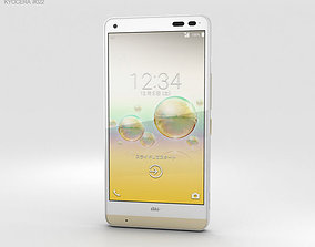 Kyocera Digno Rafre Cashmere White phone 3D model