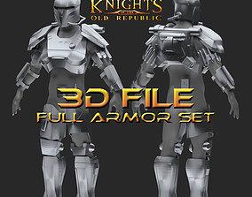 3D print model Early Crusader Mandalorian Armor - Star 1