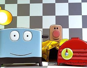 3D model Brave Little Toaster