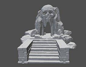 skull cave 3D print model