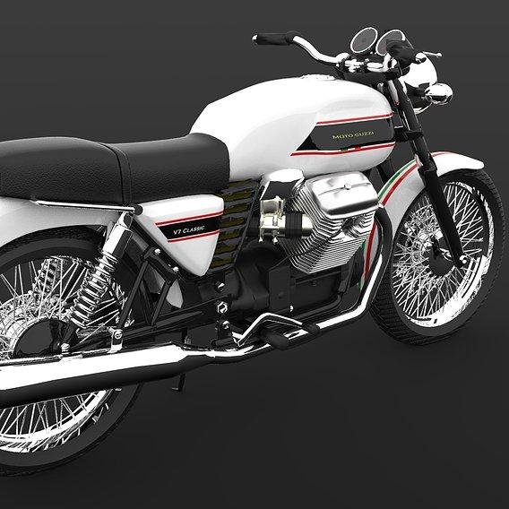 Moto guzzi V7 Classic 'touring'