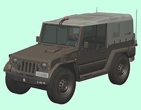 3D Japan Ground Self-Defense Force Type-73 pickup truck