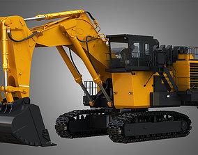 EX8000-6 - Mining Excavator and Shovel 3D model