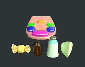 Flavours of the Tongue Game Jam 3D model