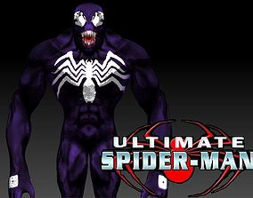 Venom - Remastered - Rigged - MARVEL Ultimate 3D asset