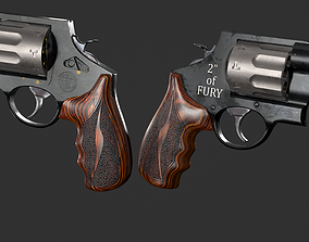 Game ready Smith and Wesson MODEL 327 Handgun game-ready 2