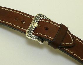 Wrist watch bracelet buckle 3D printable model