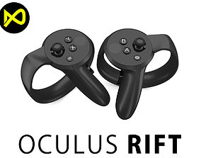 Oculus Touch 3D model