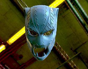 3D print model Black Panther T Challa Mask Helmet 1