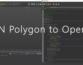 iN Polygon to Open 3D model