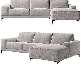 3D model Valery Corner sofa Kaza do sofa