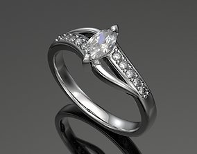 Engagment ring N1 3D printable model