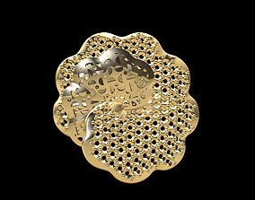 Gold Ring 188 3D print model