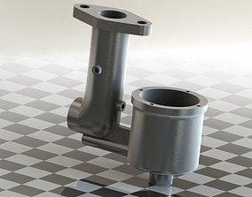 3D model Carburetor Body