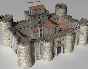 castle keep 3D model