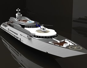 Yacht Luxury 3D