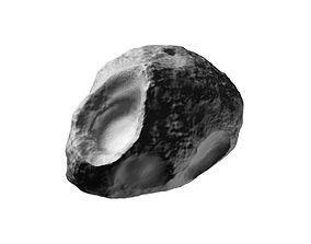 3D Asteroid Comet sculpted model