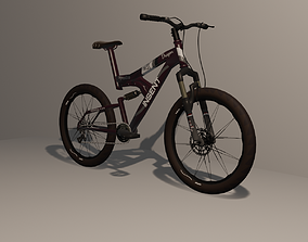 3D asset Mountain Bike 8