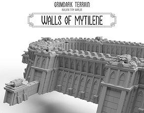 PDF Walls of Mytilene - Base Set by 3D print model 1