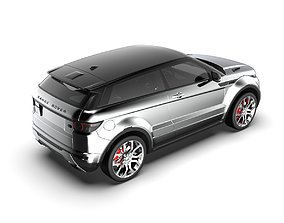 3D model Range Rover Evoque - Strong Styling