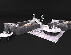 Sofa in modern style Bonaldo 3D model