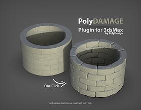 PolyDamage for 3dsMax damage