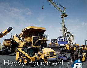 Heavy Equipment Pack 3D model