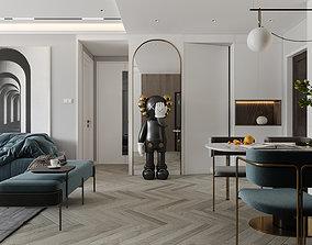 3D model Interior Scene architecture furniture